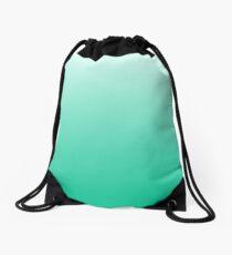 Mint Ombre Drawstring Bag