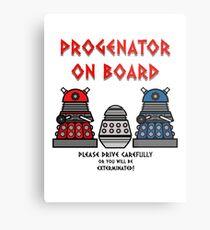 Prigenator Onboard Metal Print