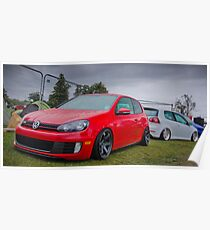 MK6 Golf GTD & MK5 Golf Poster