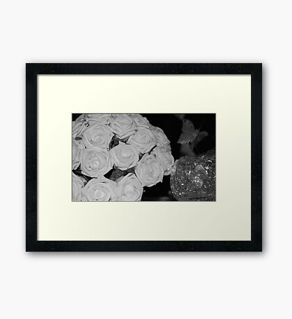 After the Excitement Framed Print