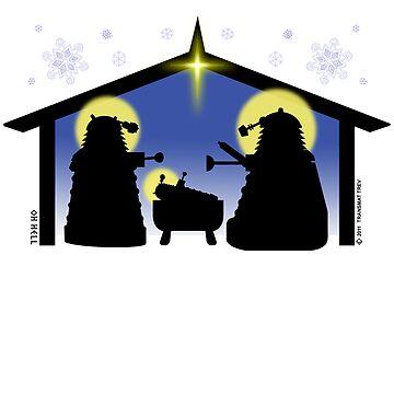 Skaro Nativity by TransmatTrev