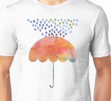 Rainbow Umbrella Unisex T-Shirt