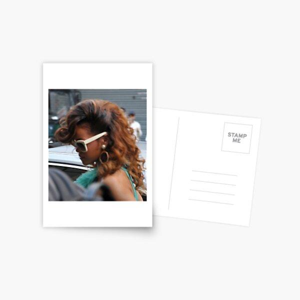 Rihanna @ House Of Frazier Oxford Circus Postcard