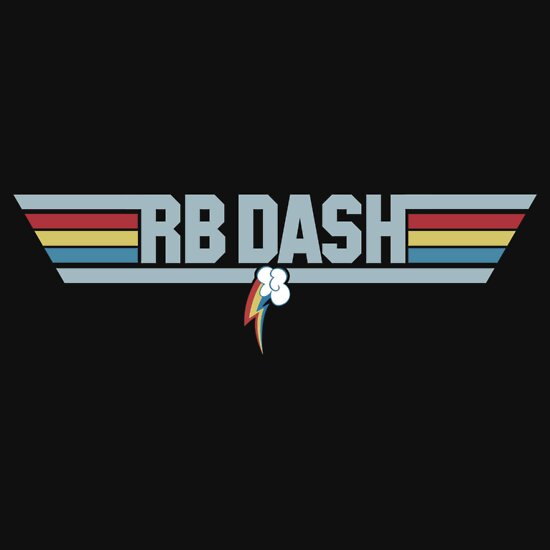 TShirtGifter presents: Rainbow Dash - Top Gun Logo