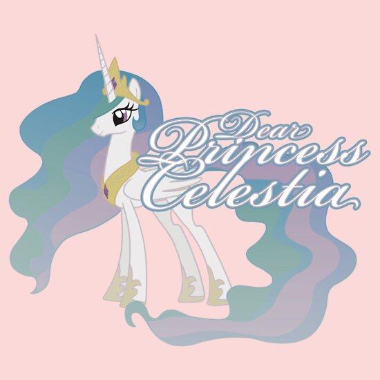 TShirtGifter presents: Dear Princess Celestia...