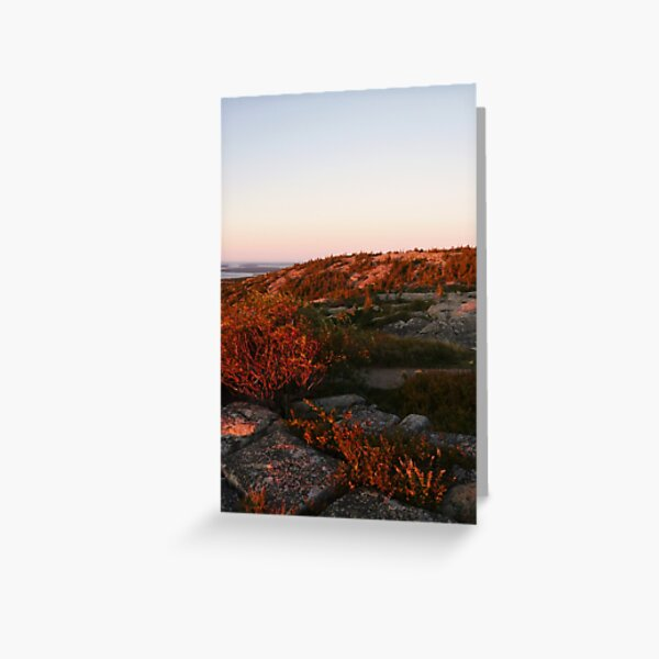Landscape Photography - Acadia 08 Greeting Card