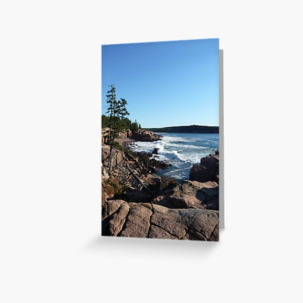 Landscape Photography - Acadia 09 Greeting Card