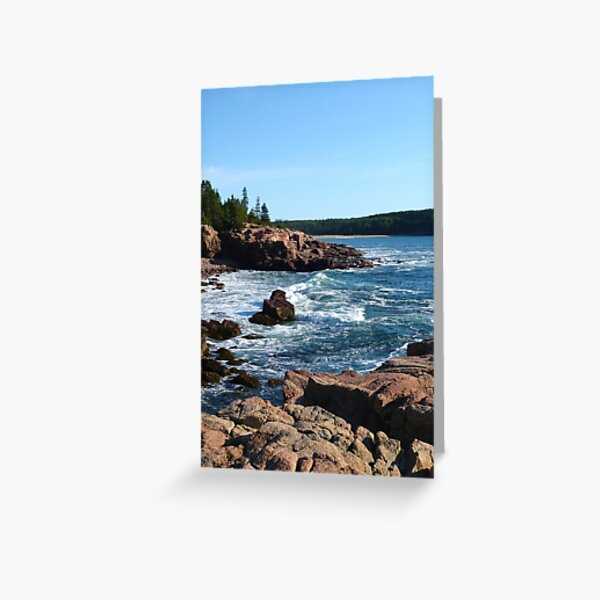 Landscape Photography - Acadia 10 Greeting Card