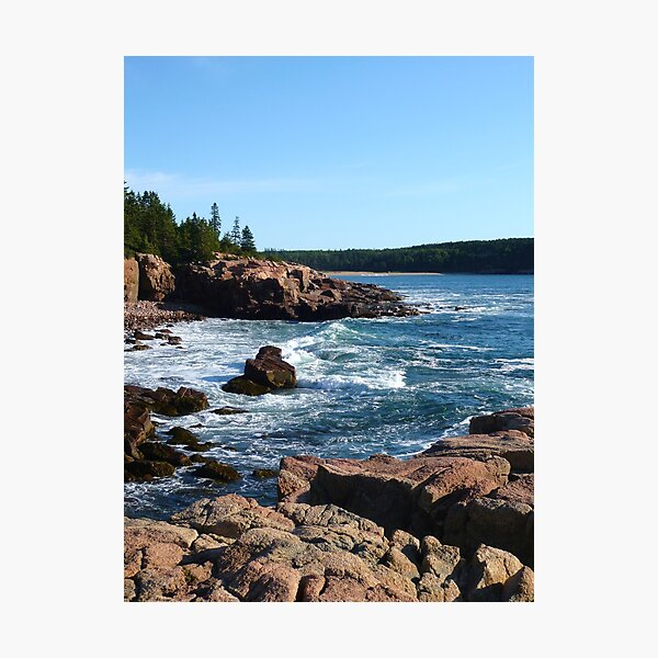 Landscape Photography - Acadia 10 Photographic Print
