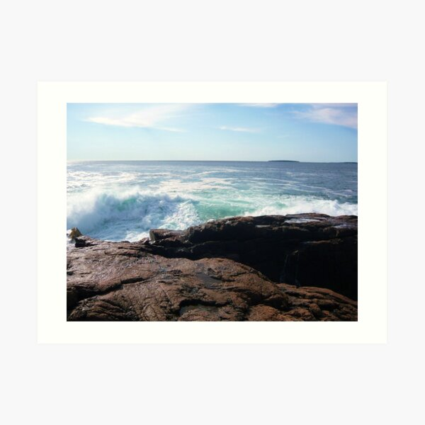 Landscape Photography - Acadia 11 Art Print
