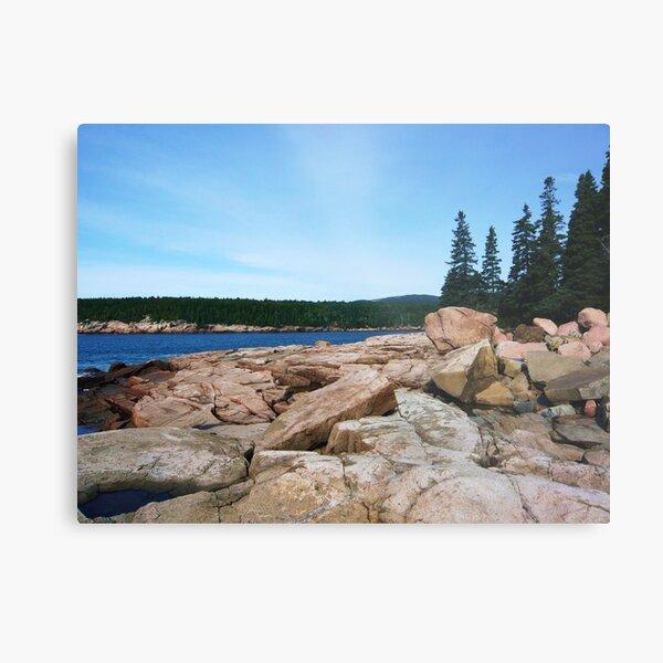 Landscape Photography - Acadia 12 Metal Print