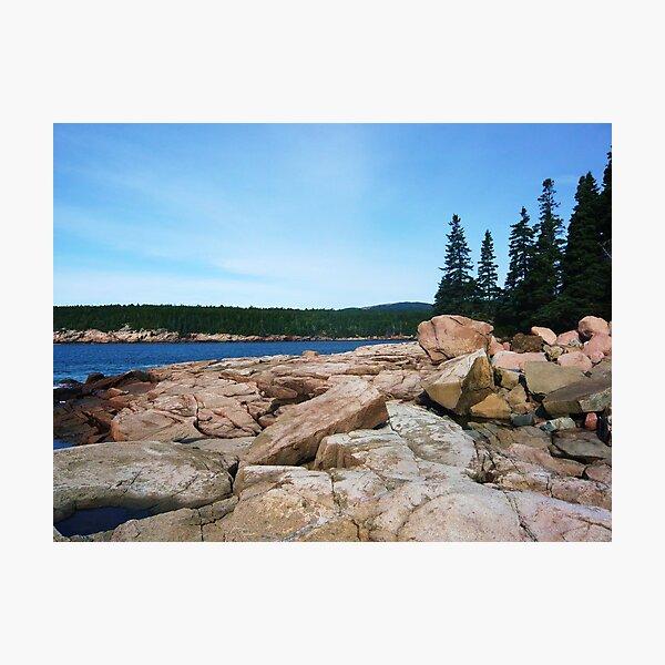 Landscape Photography - Acadia 12 Photographic Print