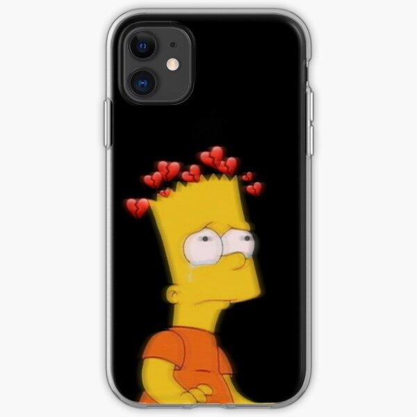 Sad Bart 3 iPhone Soft Case