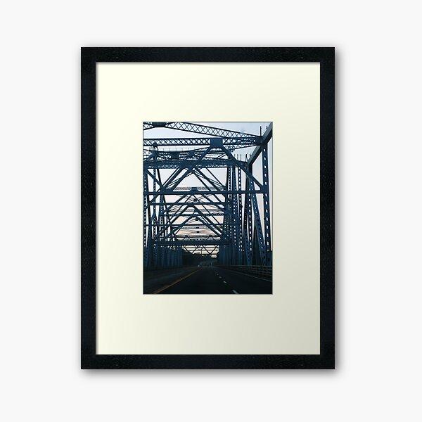 Bridge 01 Framed Art Print