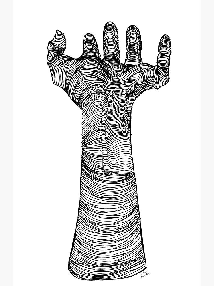 «Main mystique | encre» par celinectar