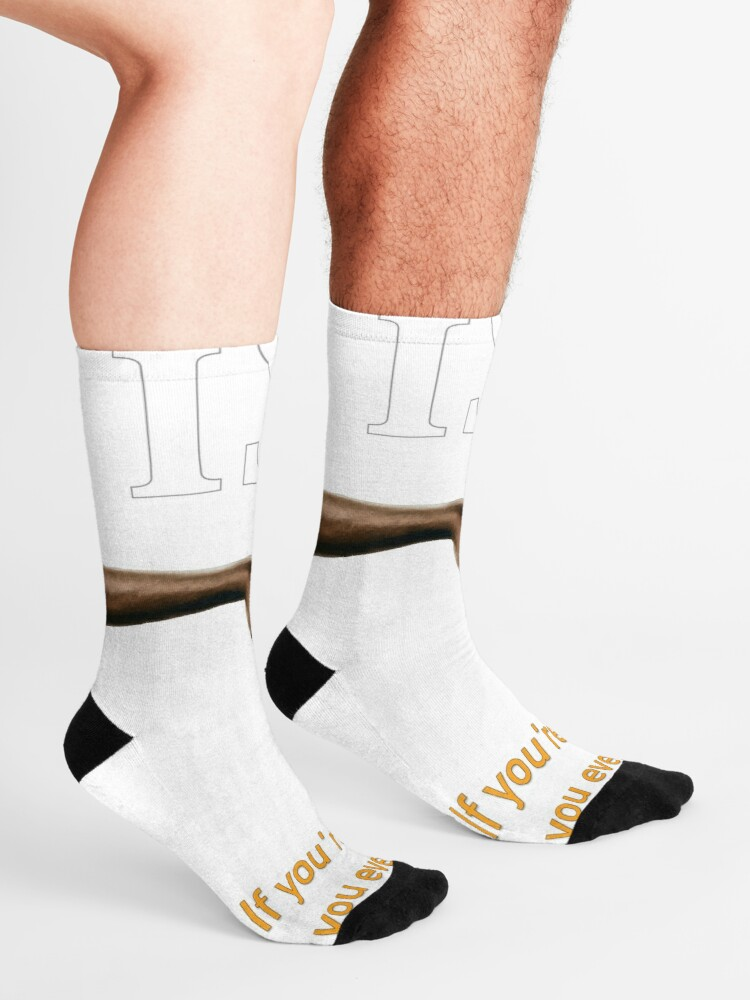 Alternate view of Have You Ever Asked A Man Out On A Date Socks