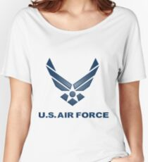 U.  S. Air Force Symbol Women's Relaxed Fit T-Shirt