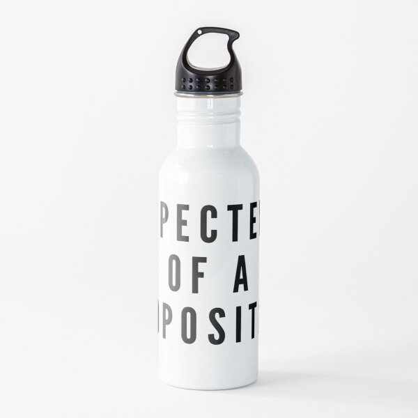 SPECTER OF A PROPOSITION Water Bottle