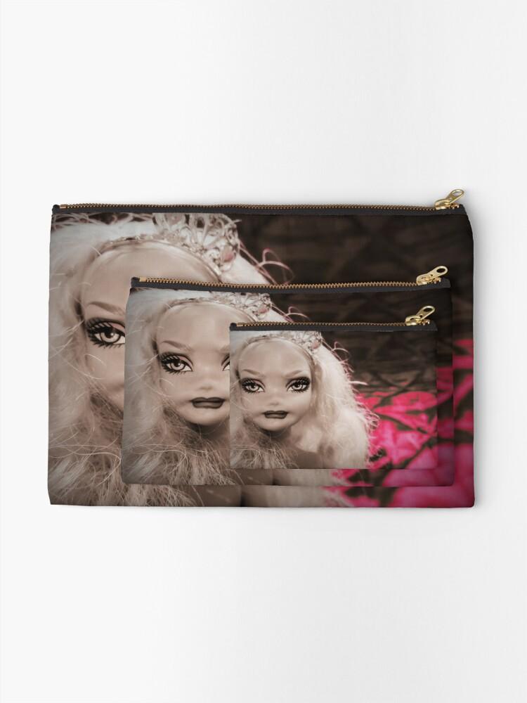 Alternate view of Kitsch Barbie My Scene Doll Princess  Zipper Pouch