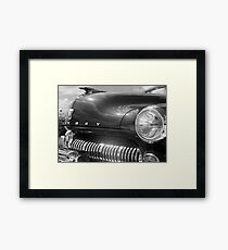 Show Me Your Teeth Framed Print