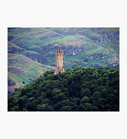 William Wallace Monument, Scotland.......!      Photographic Print
