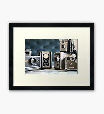 Vintage collection ...close up  Framed Print