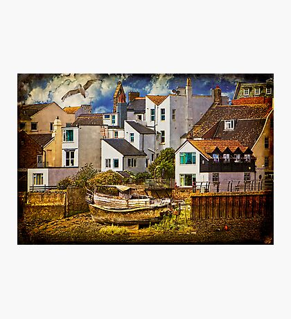 Harbor Houses Photographic Print