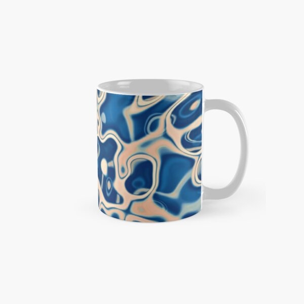 Abstraction of DarkSlateBlue Bisque Classic Mug