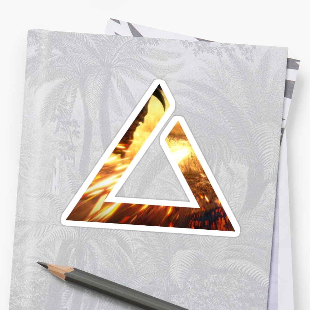 Igni Sign The Witcher Sticker