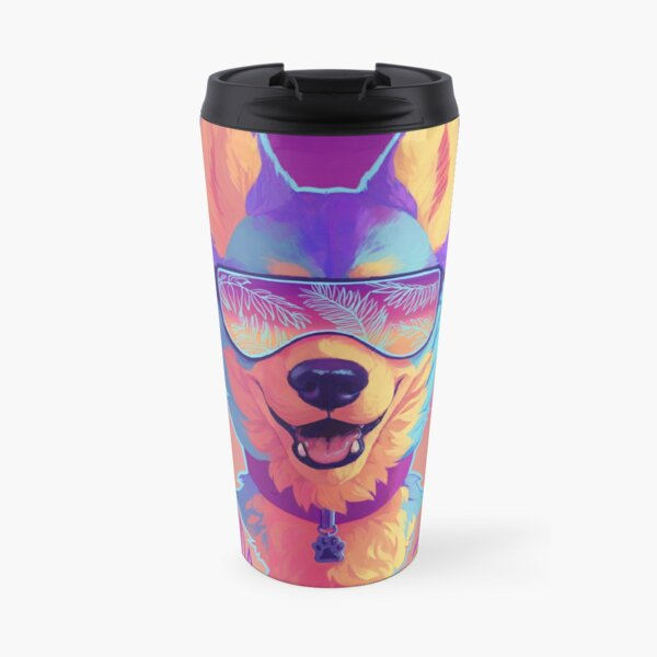 sparkle dog Travel Mug