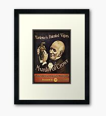BioShock Infinite – Murder of Crows Poster Framed Print