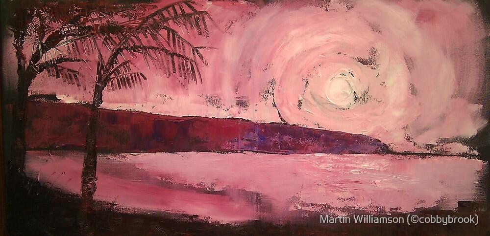 'Jamaican Sunset' by Martin Williamson (©cobbybrook)