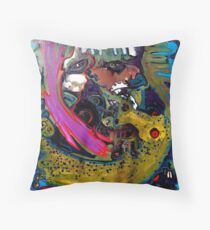 """""""Faces in Places"""" Throw Pillow"""