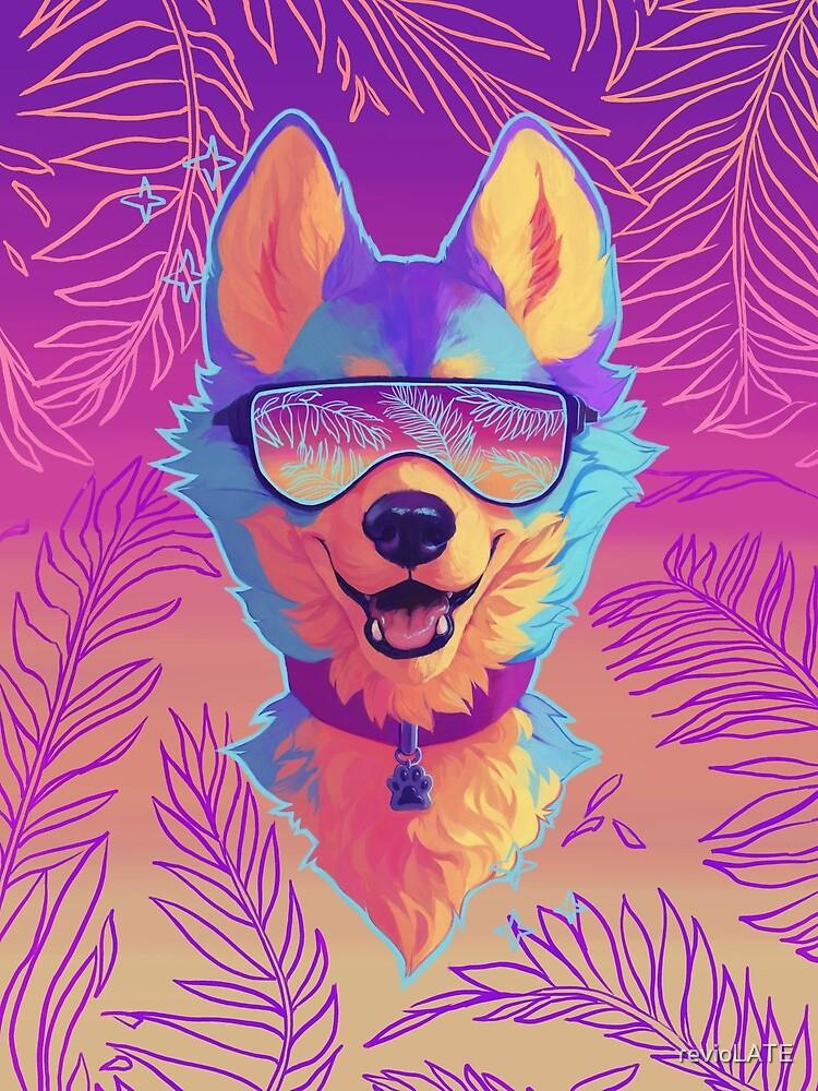 sparkle dog by revioLATE