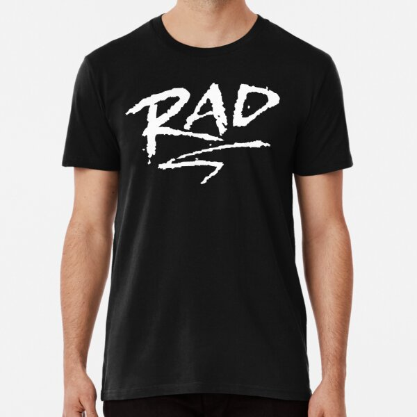 Rad Logo - WHITE INK Premium T-Shirt