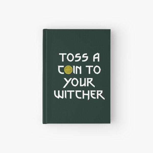 Toss a Coin to your Witcher Hardcover Journal