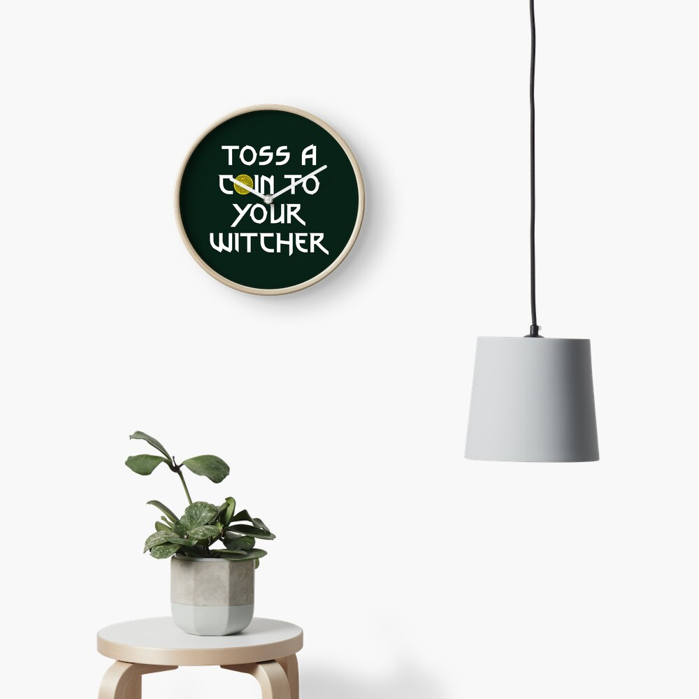 Toss a Coin to your Witcher Clock