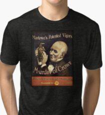 BioShock Infinite – Murder of Crows Poster Tri-blend T-Shirt