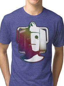 Cyberman - Rainbow Tri-blend T-Shirt