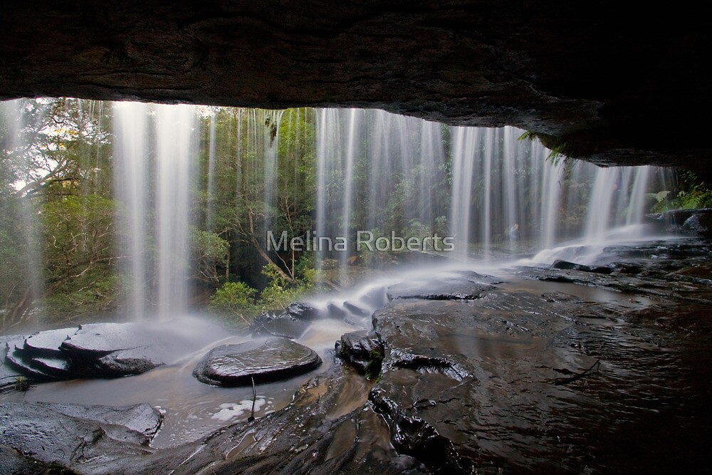 Somersby Falls, Central Coast, NSW by Melina Roberts