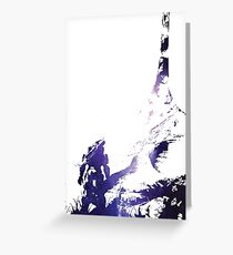 HALO | Blue Aura Greeting Card