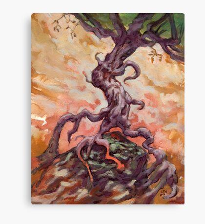 Long Slog Home Canvas Print
