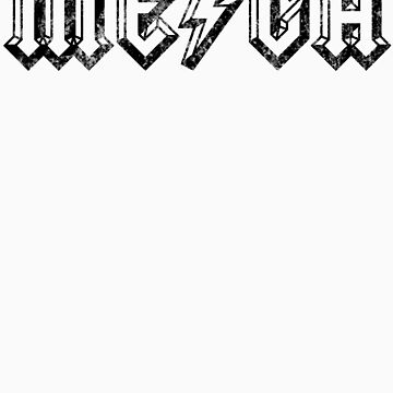 Megatrip ME-GA logo (light shirt version) by Megatrip