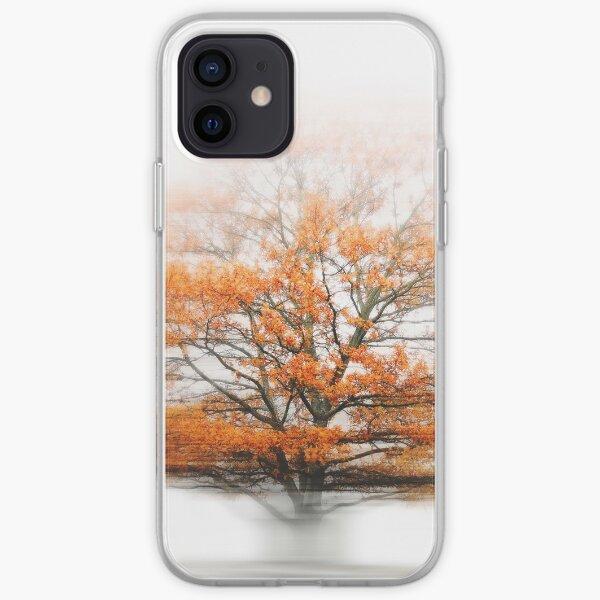 Eiche im Herbstwind iPhone Flexible Hülle