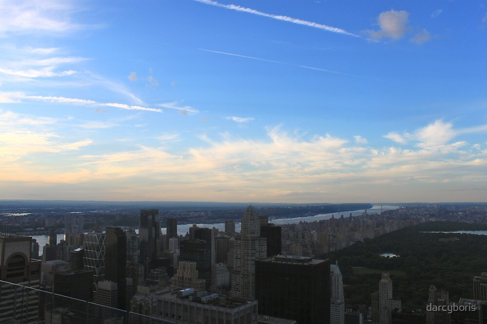 views from the top of the rock by darcyboris