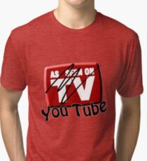 As Seen on... YouTube Tri-blend T-Shirt