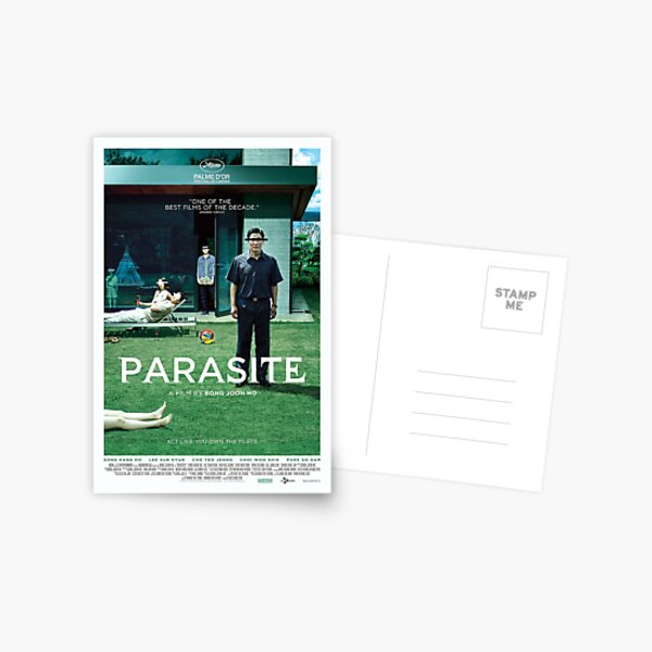 PARASITE poster directed by BONG JOON-HO Korean Film Postcard