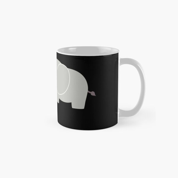 Baby and parent elephant with heart Classic Mug