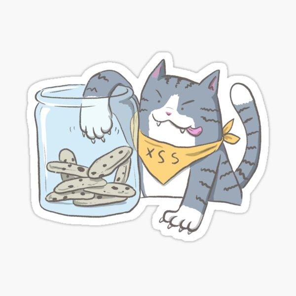 Cookie Thief Sticker