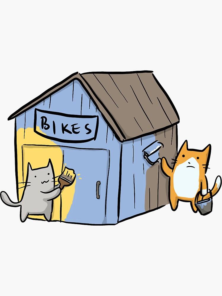 Bike Shedding by deniseyu